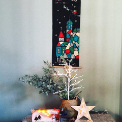 ムースケーキ/手作りケーキ/ムーミン一家のクリスマス/和室のクリスマス/シンプルクリスマス/クリスマス2019/... 大人だけのクリスマスは、地味です。 が、…(2枚目)