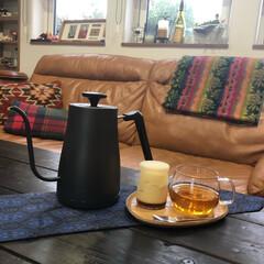 電気ケトル NEKM-C1280 | 山善(電気ケトル)を使ったクチコミ「珈琲もお抹茶も紅茶もノンカフェイン飲料も…」