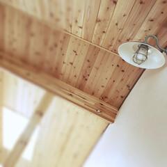 我が家の照明/LED電球/トイレの照明/世界地図/IKEAの洗面所/IKEAの照明/... 二階トイレと寝室の照明は、 ちょっとクラ…(2枚目)