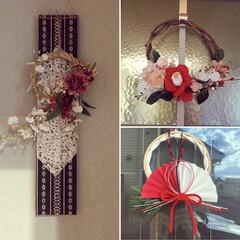 和紙/和雑貨/お正月インテリア/お正月リース/お正月飾り/100均/... お正月飾りは、ハンドメイドで作ります。 …