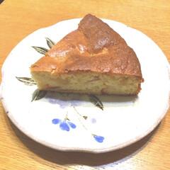 秋/りんごケーキ/紅玉 紅玉りんご🍎ケーキ😋