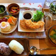 車麩の味噌カツ/ゆるマクロビ/菜食ごはん 2018.5.20 カフェデザートムーン…