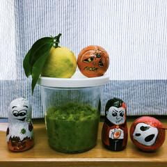 柚子胡椒 藤沢の友達から柚子を頂いたので柚子胡椒を…