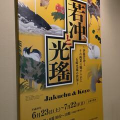 美術館/おでかけ 今日は美術館へ 日本海側では初だとか… …