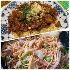 スパゲッティ/フォロー大歓迎/LIMIAごはんクラブ/おうちごはんクラブ パスタというオシャレなものではありません…