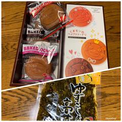 お友達から/高菜/ドーナツ/くまモン/熊本 熊本に在住のお友達から 送られてきました…