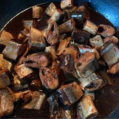 秋刀魚の甘露煮/鬼まんじゅう/フォロー大歓迎 秋刀魚の甘露煮 鬼饅頭  昨日の夜 なん…