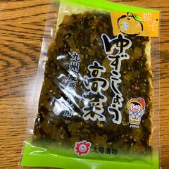 お友達から/高菜/ドーナツ/くまモン/熊本 熊本に在住のお友達から 送られてきました…(3枚目)
