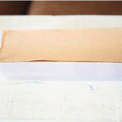 ペーパータオルホルダー/セリア/ペーパータオル/カトラリーケース/便利/節約/... セリアで購入したペーパータオルを同じくセ…