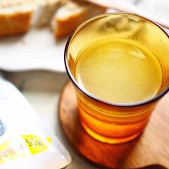 お正月2020/キャンドゥ/100均/キッチン雑貨/キッチン/雑貨/... お正月にぴったりのこんぶ茶。耐熱グラスは…(1枚目)