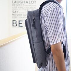 節約/簡単/おしゃれ/夏対策/夏ファッション/梅雨/... ブルーシンシアのリュックサック。撥水性の…