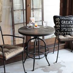 インテリア/マイホーム/注文住宅/空間アレンジ/おしゃれな部屋/コーディネート術/... アイアン家具とは鉄を使用した家具のことで…