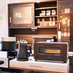 スチームオーブン/BALMUDA The Toaster/バルミューダ/トースター/朝ごはん/スチーム/... 今までにない、感動のオーブントースター …