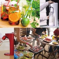 ドリンクメイト/炭酸ドリンクメーカー/オリジナル炭酸水/微炭酸/強炭酸/ローカロリー ジュースもお酒も炭酸飲料に!家庭用炭酸飲…