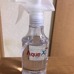 AquaX ペットのお手入れスプレー    AquaX(アクアエックス)(その他ペット用品、生き物)を使ったクチコミ「またまたモニター当選しました。ペットのお…」(2枚目)