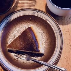 カフェ風撮影/自家製ケーキ/簡単/おしゃれ/暮らし/おうちごはん stay home中❣️ 時間があり、自…