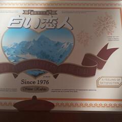 おやつ/白い恋人/六花亭/北海道物産展 北海道銘菓  白い恋人のブラック💕 ホワ…