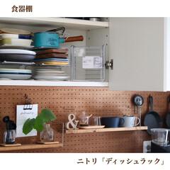 スキレット鍋 15cm(6インチ スキレットナベ) | ニトリ(スキレット)を使ったクチコミ「2020/06/18  【食器棚】 ニト…」