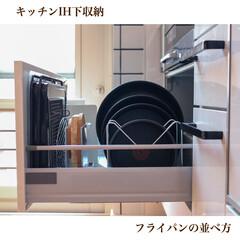 インジニオ・ネオ バタフライガラスぶた 26cm L99366 | ティファール(圧力鍋)を使ったクチコミ「2020/06/20  【フライパン収納…」