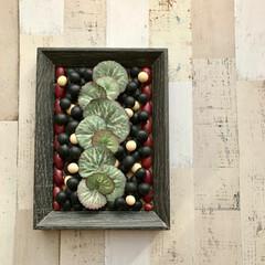 ハンドメイド/雑貨/インテリア/グリーン/多肉/観葉植物/... 大好きな造花と、いろんな物を組み合わせて…