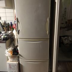 limiaキッチン同好会/新生活/セリア/キッチン収納/キッチン/暮らし/... 前からしたかった冷蔵庫のリメイク。 全体…(1枚目)