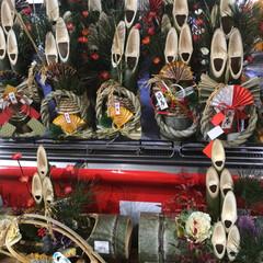 雑貨/おでかけ 今年最後の道の駅はクリスマスとお正月を凝…(1枚目)