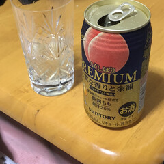お酒 たまたま、見かけたお酒。桃🍑好きな私は気…