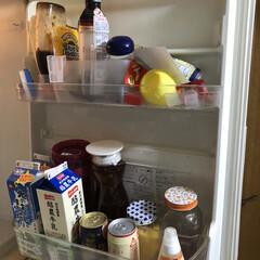 limiaキッチン同好会/100均/収納/掃除/暮らし/節約 冷蔵庫外は少しおしゃれになったけど。 今…(2枚目)