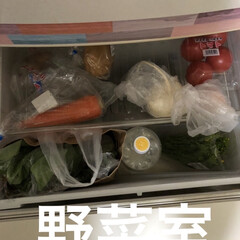limiaキッチン同好会/100均/収納/掃除/暮らし/節約 冷蔵庫外は少しおしゃれになったけど。 今…(4枚目)