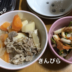 limiaキッチン同好会/お弁当/暮らし/節約 晩ご飯兼お弁当のおかず兼私のお昼ごはんと…(1枚目)