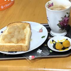 朝ご飯 体調は少しずつ良くなりました。 久しぶり…