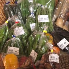 お野菜/暮らし/節約/食欲の秋 通院から帰ると素敵な荷物が届いてました。…