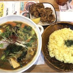 ランチ/スタミナご飯/札幌名物/スープカレー 札幌のスープカレー屋さん、トムトムキキル…
