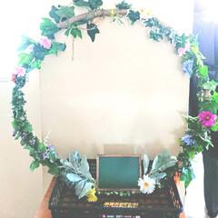ハンドメイドCLUB/チョコレートフラワー/フラフープリース/サプライズプレゼント/卒業式/ハンドメイド/... 息子クンの卒業式への『サプライズプレゼン…