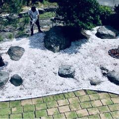 リノベーション/庭/ガーデニング/日本庭園/DIY/ハンドメイド/... 庭作り。 荒れ果てたお庭をDIY。 田舎…(5枚目)