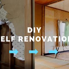 和室から洋室/和室リフォーム/和室/砂壁/セルフリノベーション/中古物件/... 和室の壁を壊す動画完成しました。 良かっ…