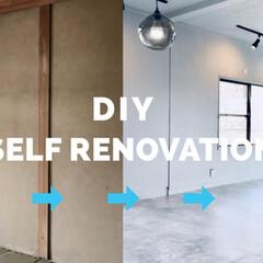 リノベーション/セルフリノベーション/スポットライト/ダクトレール/照明/砂壁/... 20万で部屋丸ごとDIY! 和室を洋室に…