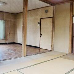 和室リノベーション/和室から洋室/和室改造/砂壁/セルフリノベーション/中古物件/... 暗い砂壁が無くなってめちゃくちゃ明るくな…