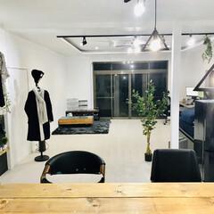 バーチェア/カウンターチェア/イス/カウンターテーブル/キッチンカウンター/リノベーション/... 自宅がカフェのような空間になりました。 …