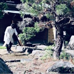 リノベーション/庭/ガーデニング/日本庭園/DIY/ハンドメイド/... 庭作り。 荒れ果てたお庭をDIY。 田舎…(2枚目)