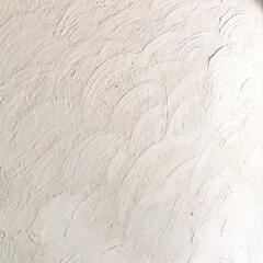 漆喰/リノベーション/中古物件/玄関/セルフリノベーション/DIY/... 漆喰塗りいいかんじです! 光の当たり具合…