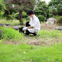 日本庭園/ガーデニング/庭/リノベーション/DIY/ハンドメイド/... 荒れ果てた庭をDIY 田舎暮らしの日常。(2枚目)