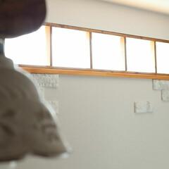はめ殺し窓/FIX窓/高窓/SPF材/DIY/インテリア DIYコンテスト用  高窓につけた窓枠 …