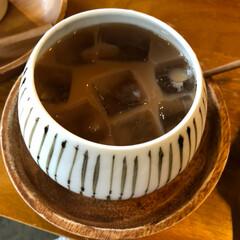 小さな探求室/とんぼ玉/フォロー大歓迎/ハンドメイド/おでかけ/わたしの手作り 素敵なカフェでとんぼ玉作り。 初めて最初…(5枚目)