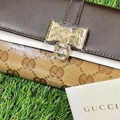 gucci/グッチ/未使用/コスパ/お得/ブランド/... GUCCI(グッチ)の長財布(未使用品)…