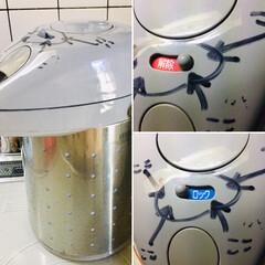エアポット/キッチン とうとう家のAirPotが悲惨なことに!…