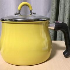 和平フレイズ ToMay トゥーメイ IH対応マルチポットL | 和平フレイズ(片手鍋)を使ったクチコミ「台所西北にあり 西に黄色でいいかも💦 ち…」