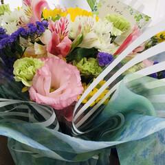 お花 びっくり‼️お花屋さんからピンポーン♫ …