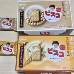 SALE 江崎グリコ ビスコ大袋 発酵バター仕立て アソートパック 1袋   グリコ(バターサンド、レーズンサンド)を使ったクチコミ「ビスコ❣️新商品 ビスコもがんばってるな…」(1枚目)