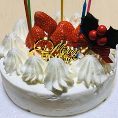 クリスマスケーキ ケーキ予約してなくてスーパーのケーキ直径…